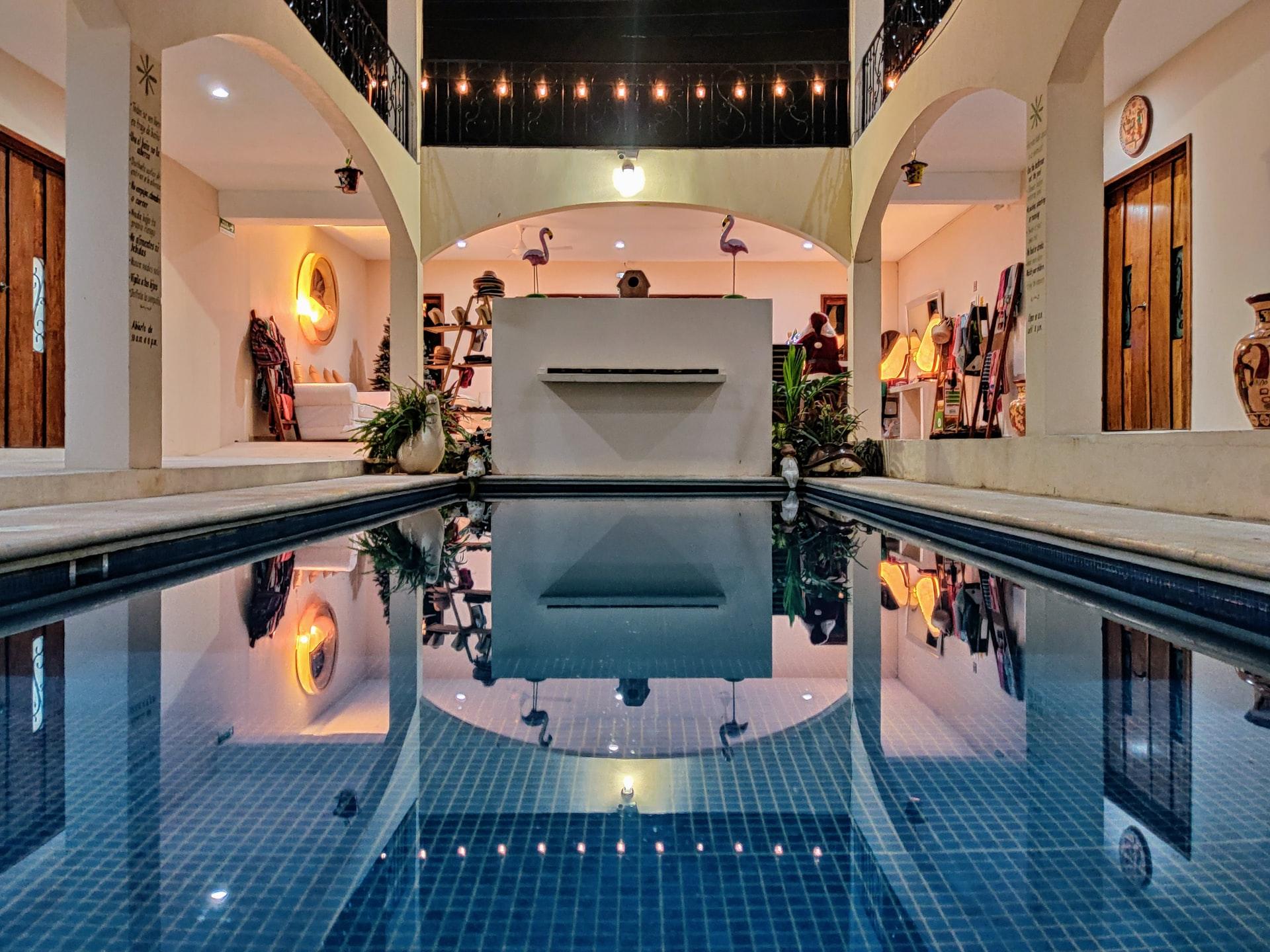 zwembad aan huis